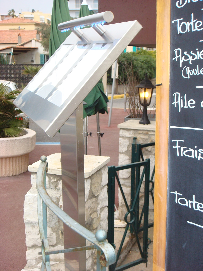 Porte menu