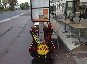 vignette hard rock